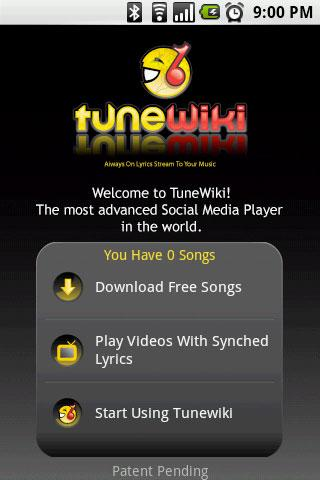 TuneWiki - Social Media Player