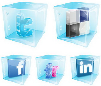 18 Social Cubes icons