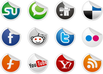 12 Socialize Icons