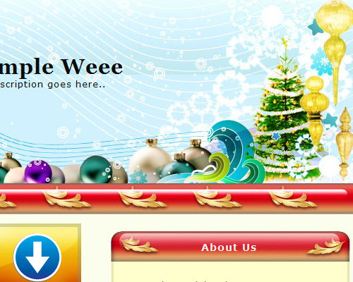 Christmas 10 WordPress theme