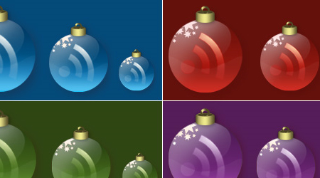Christmas Feed Icons