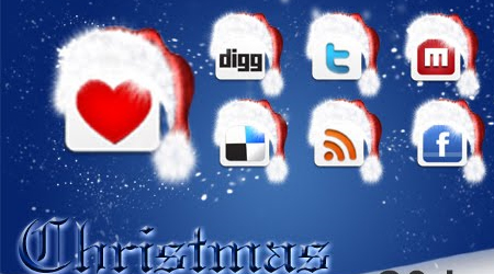 Christmas Special - Free Social Networking Icons
