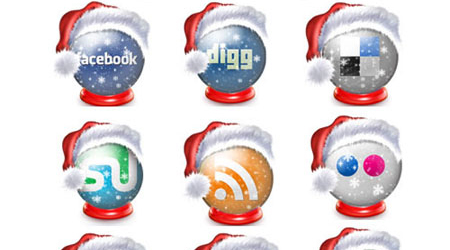 Free Holiday Social Media Icons