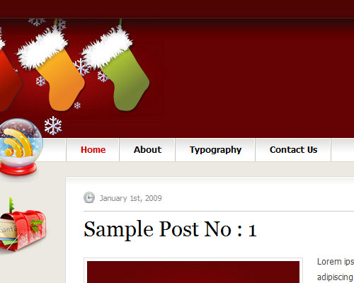 InstantShift Christmas WordPress Theme