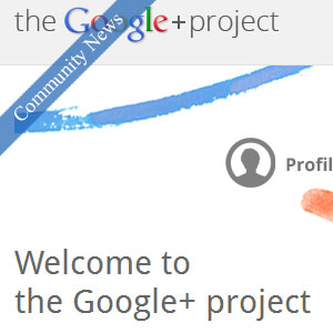 Google+ invitation from 9BlogTips