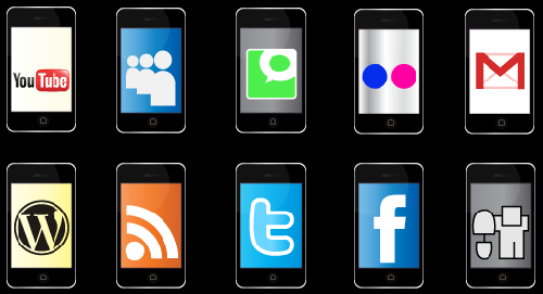 28 Free iPhone Social Bookmarking Icons