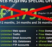 3 Web Hosting Accounts for 1 year from Zyma