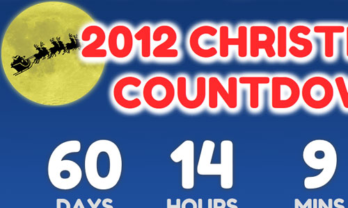 Christmas Countdown Clock 2012