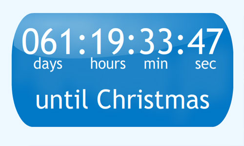 Countdown for Christmas