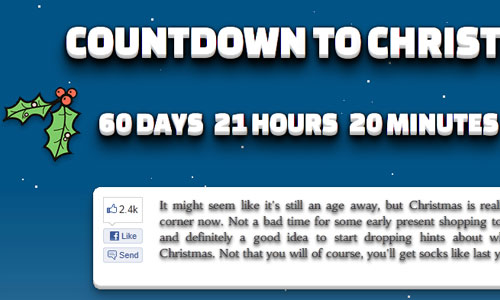 Countdown to Christmas 2012