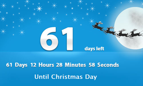 Days to Christmas