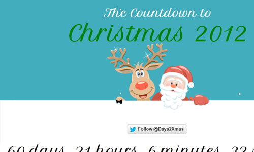The Countdown to Christmas 2012
