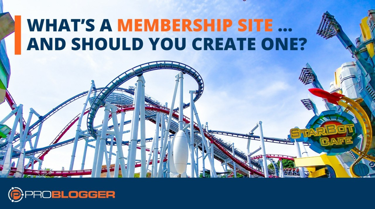 Create a membership site