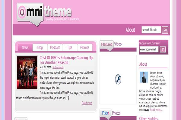 Pink Omni Theme