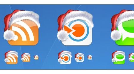 Christmas Social bookmark