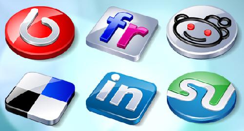 12 Social Buzz Icons